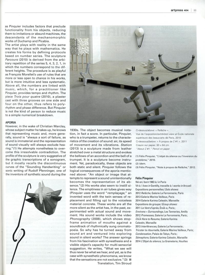 Art press 03 2013